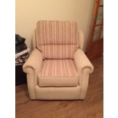 Mrs Buckley from Kirkby in Ashfield - New Stretford chair in Maidavale fabric