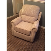 Mrs Pulford from Sutton in Ashfield - New Stretford chair in Caledonian fabric