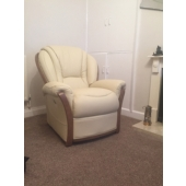 Mrs Musgrove from Sutton in Ashfield - New Tara leather chair in colour beige