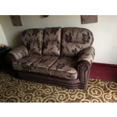 Mrs Foster from Kirkby in Ashfield - New Maria sofa in Brazil chocolate fabric