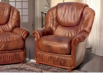 CAROLINE LEATHER CHAIR