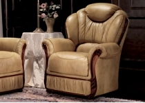 CORRINA LEATHER CHAIR