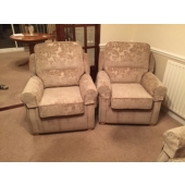 M/M Jeffs from Sutton Ashfield - New Stretford chairs in Carnevale fabric