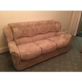 M/M Marshall from Sutton in Ashfield - New York sofa in Caledonian fabric