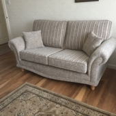 M/M Topham from Skegby - New Sabrina sofa in Montanna fabric