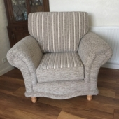 M/M Topham from Skegby - New Sabrina chair in Montanna fabric