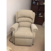 Mrs Hayes from Sutton in Ashfield - New Newark electric recliner in Montanna fabric
