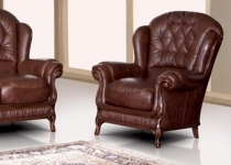 BRENDA LEATHER CHAIR