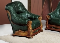 REBECCA LEATHER CHAIR