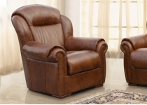 NADINE LEATHER CHAIR